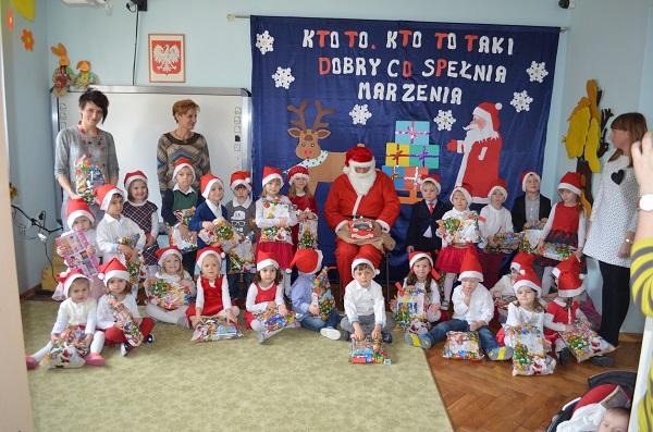 Mikołaj w naszym przedszkolu